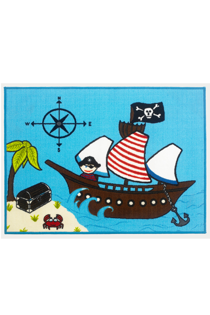 Bambino Pirate ship Rug